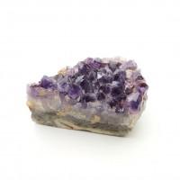 圖示-紫黃水晶晶簇(Amethyst)