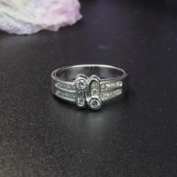 圖示-鑽石經典白K金戒指(Diamond Ring)