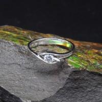 圖示-白K金鑽石戒指 | DiaR16