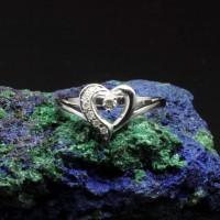 圖示-白K金鑽石戒指 | DiaR22