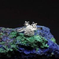 圖示-白K金鑽石戒指 | DiaR25