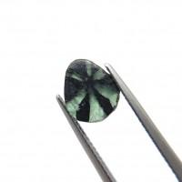 圖示-達碧茲祖母綠裸石(Trapiche Emerald)