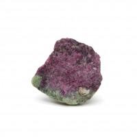 圖示-紅寶石和黝簾石共生(Ruby)