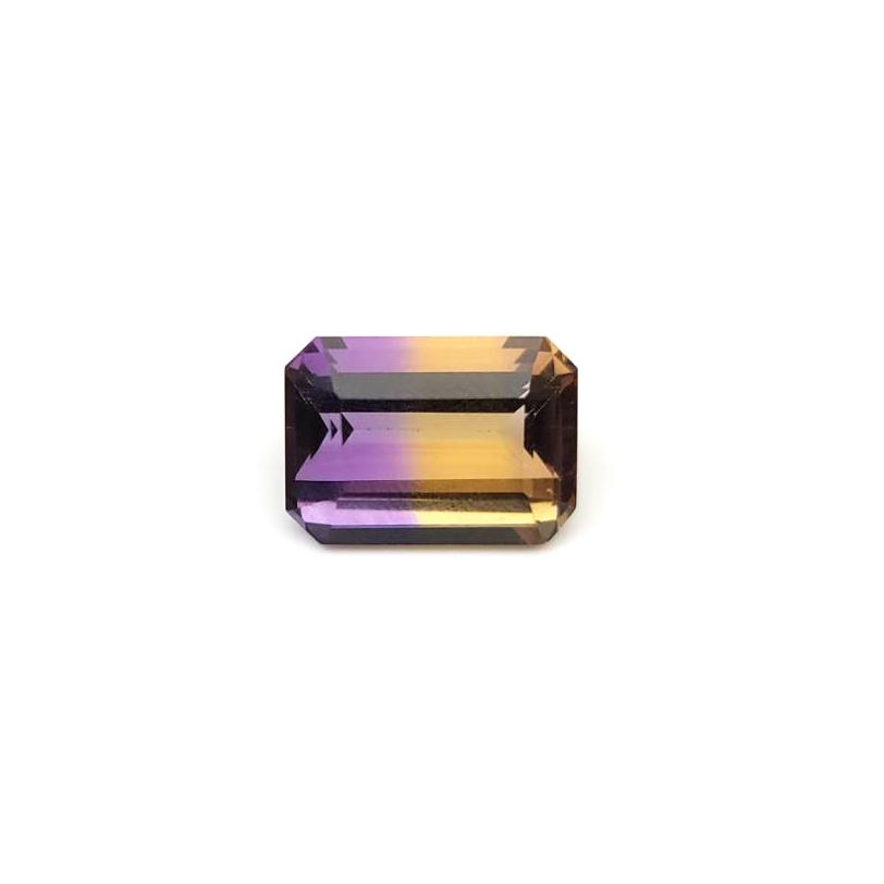 圖示-紫黃水晶裸石(Ametrine)