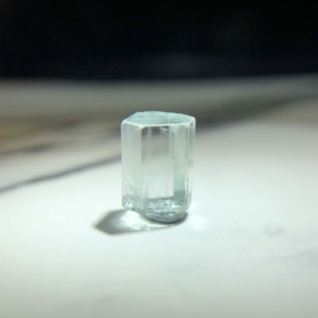 圖示-海藍寶晶體(Aquamarine)