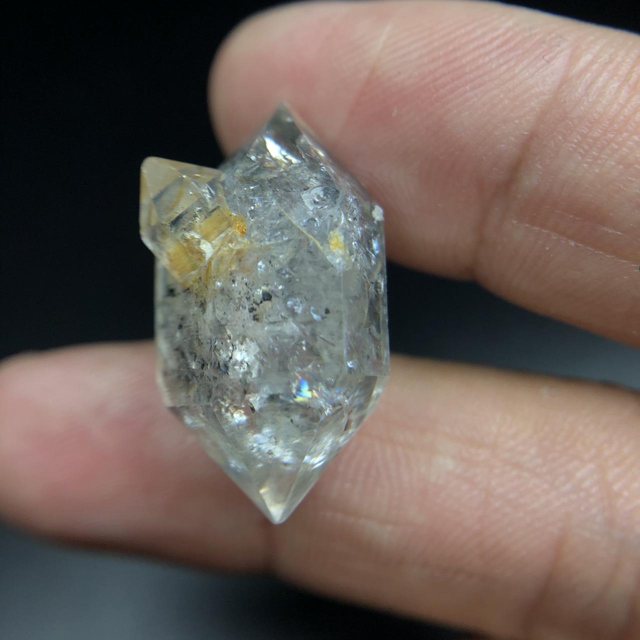 圖示-赫奇蒙水晶(Herkimer Diamond)
