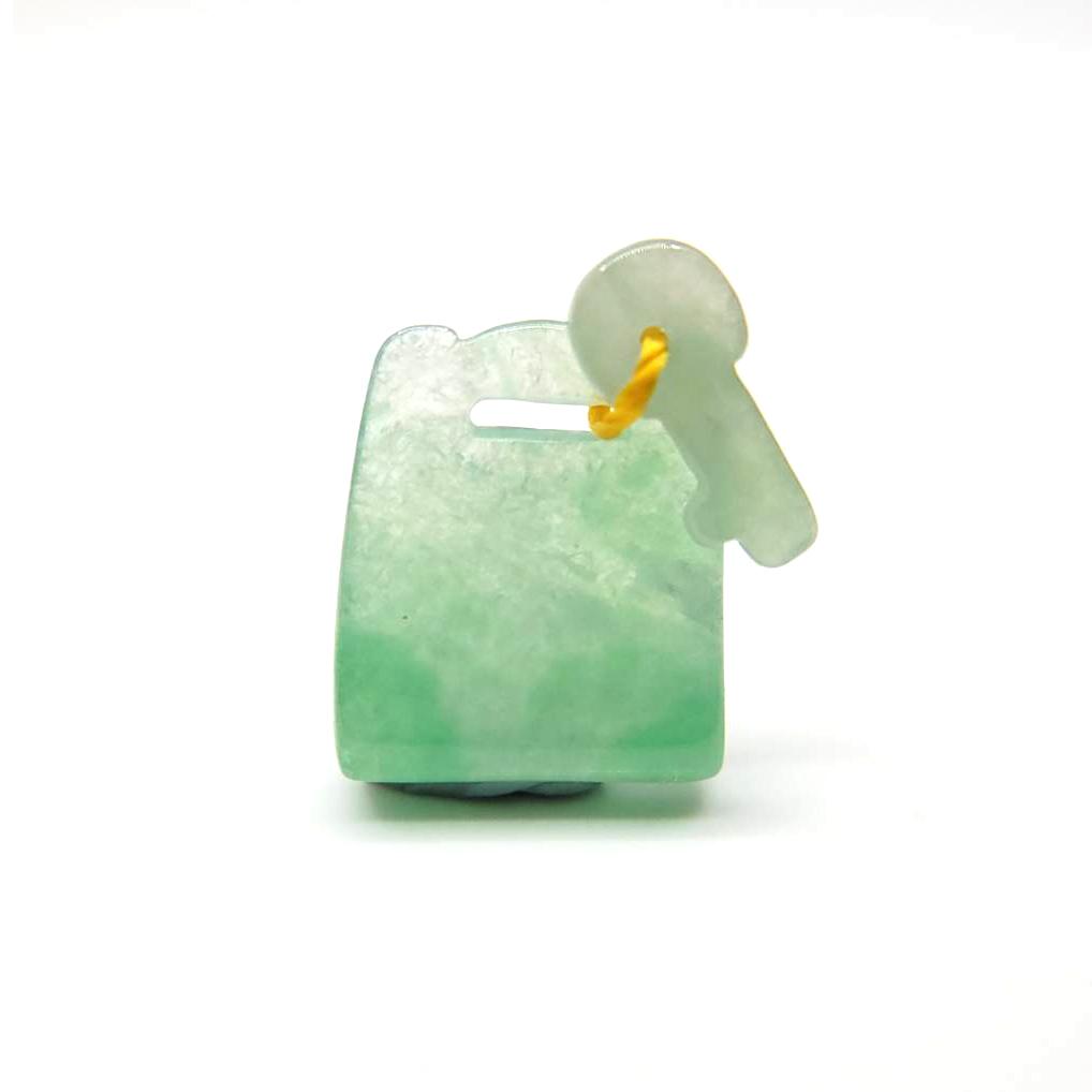 圖示-翡翠/心鎖吊墜