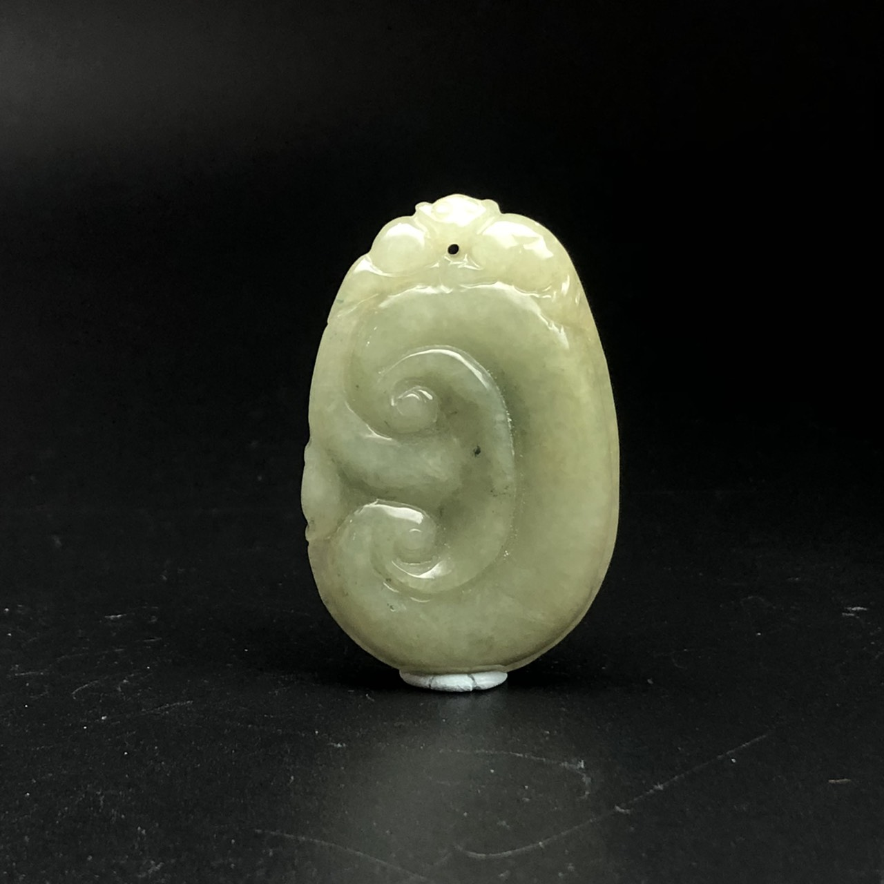 圖示-翡翠吊墜/如意(Jadeite Pendant)