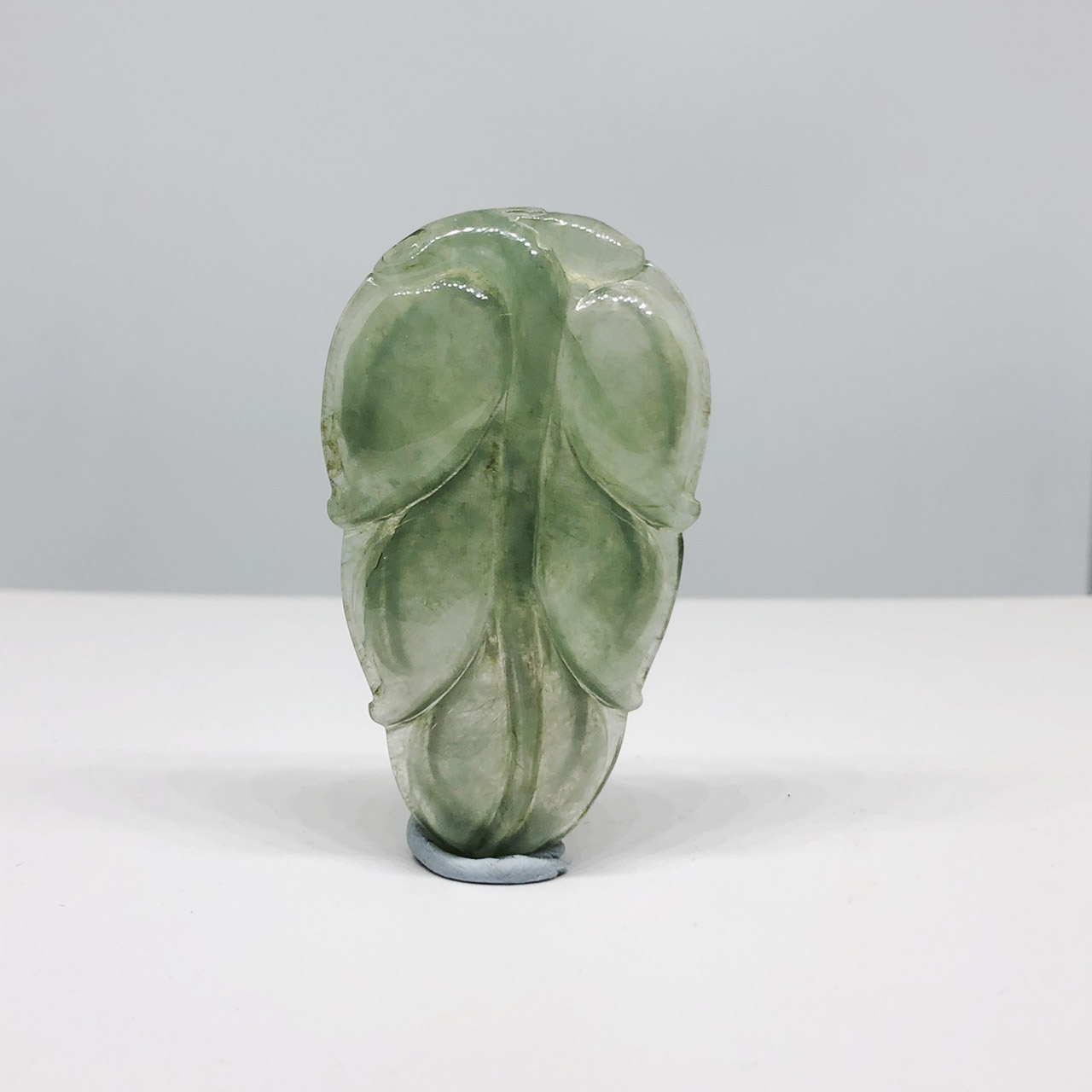 圖示-翡翠玻冰種/一夜致富吊墜(Jadeite Pendant)