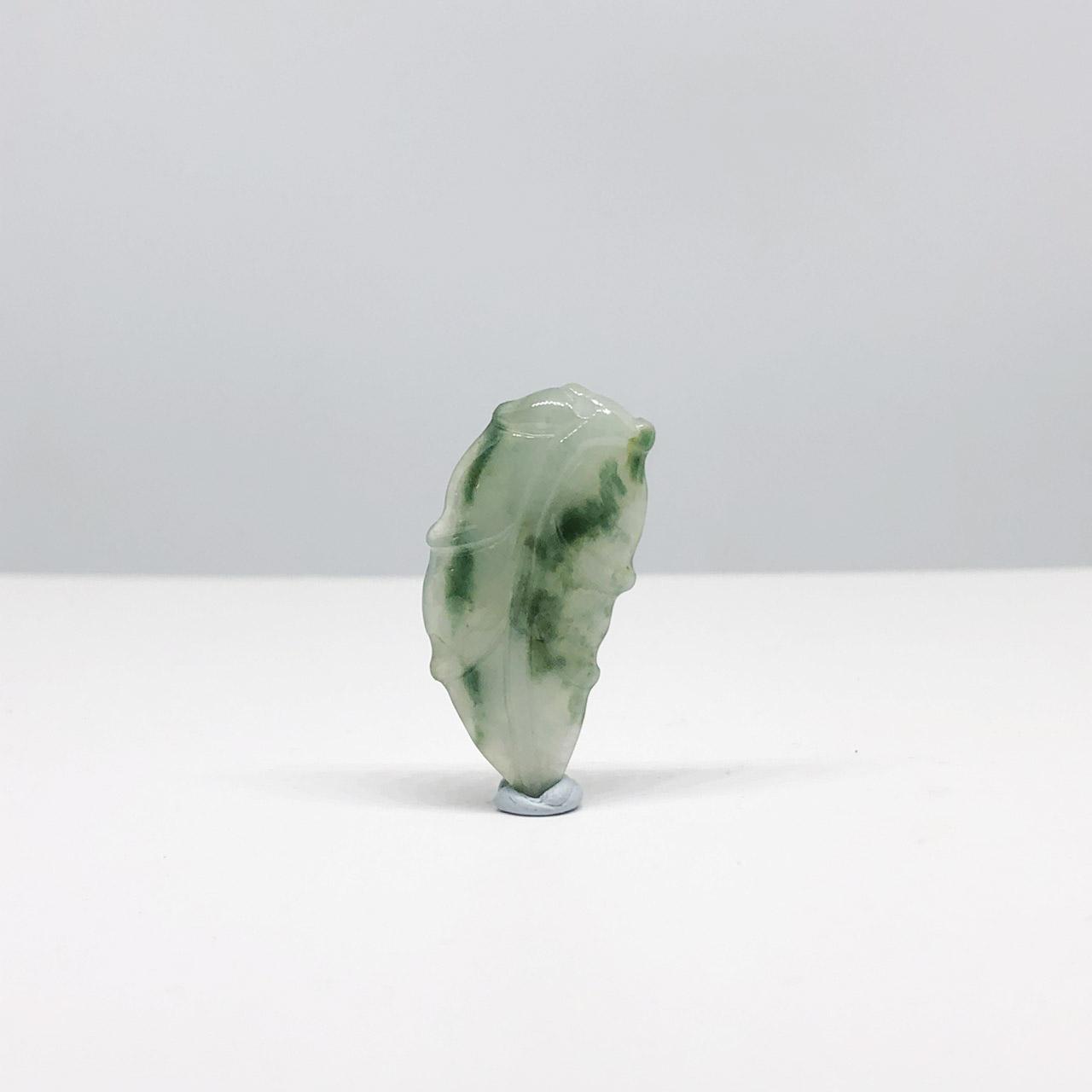 圖示-翡翠冰種/一夜致富吊墜(Jadeite Pendant)