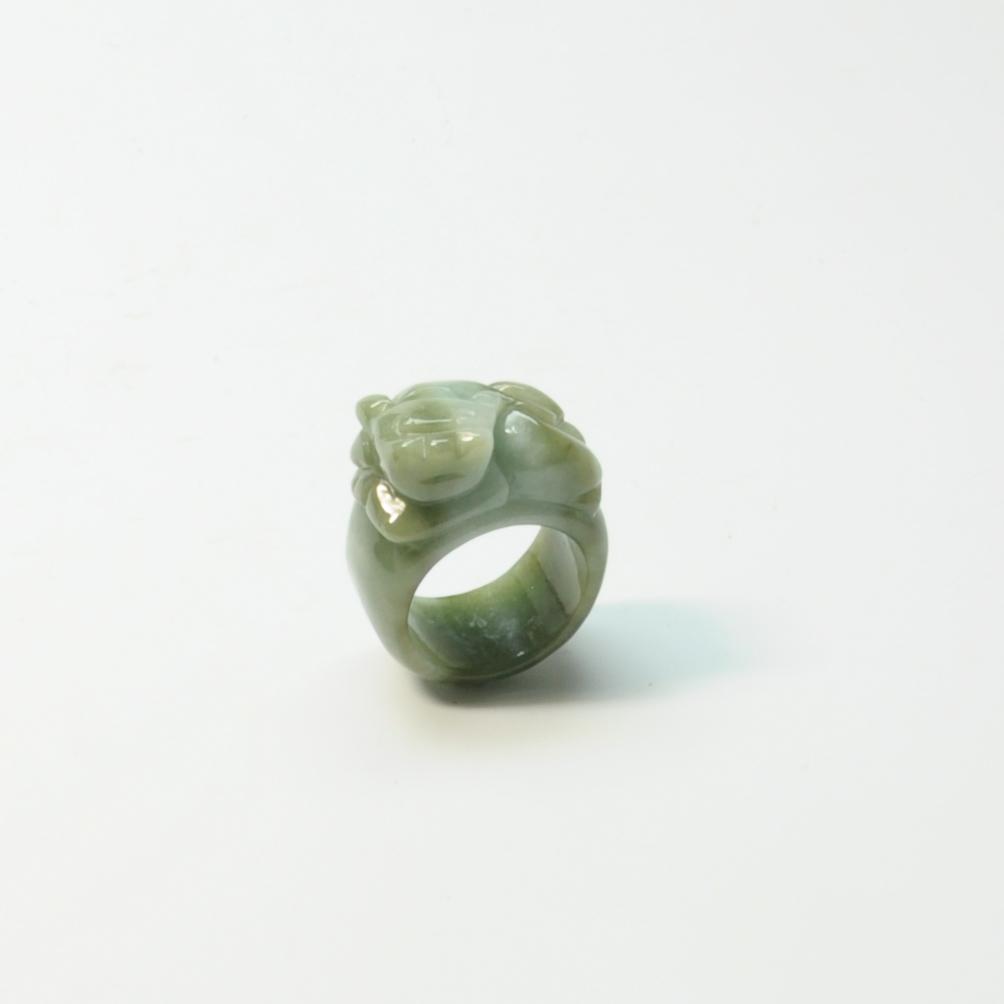 圖示-翡翠圈戒(Jadeite)