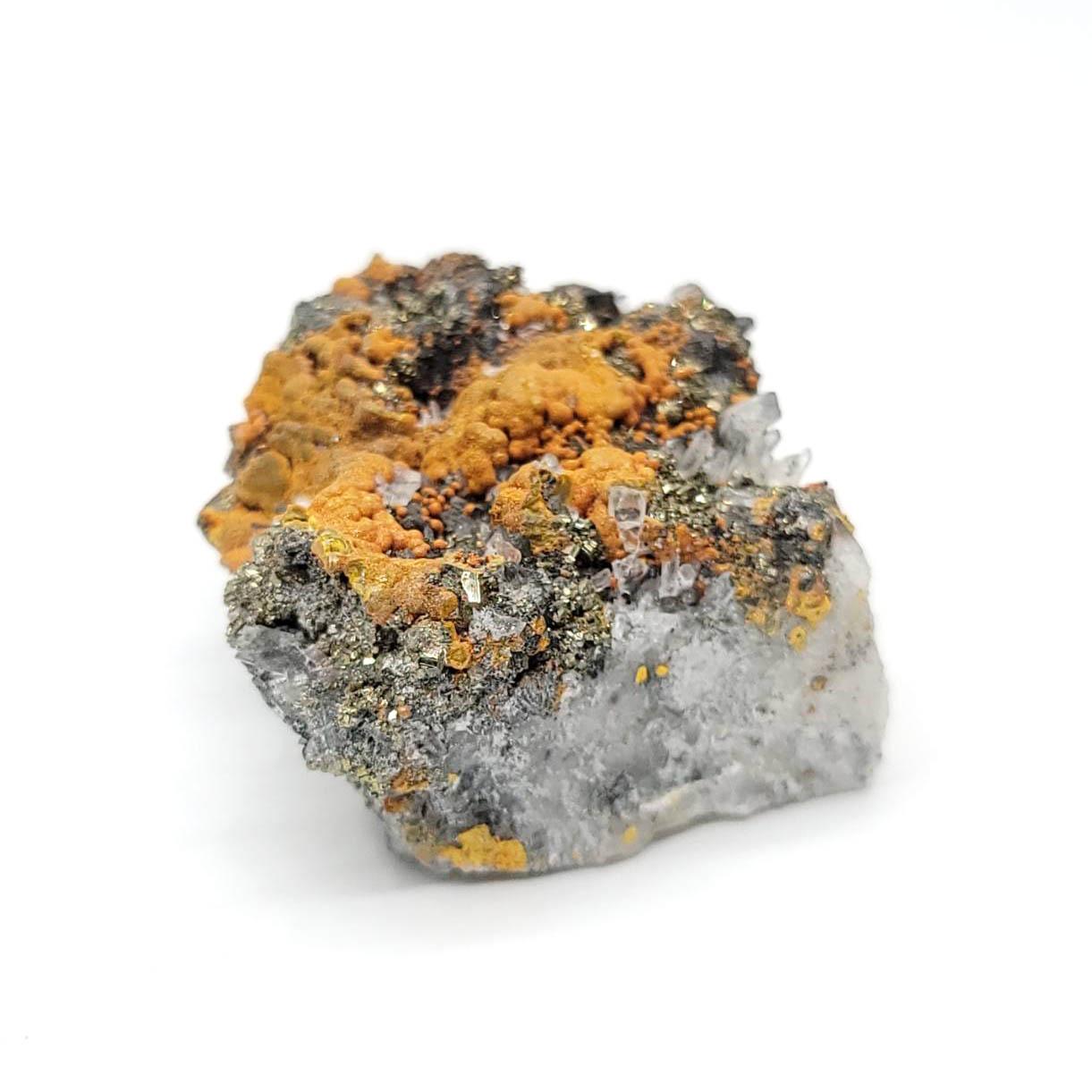 圖示-雄黃石晶體(Realgar)