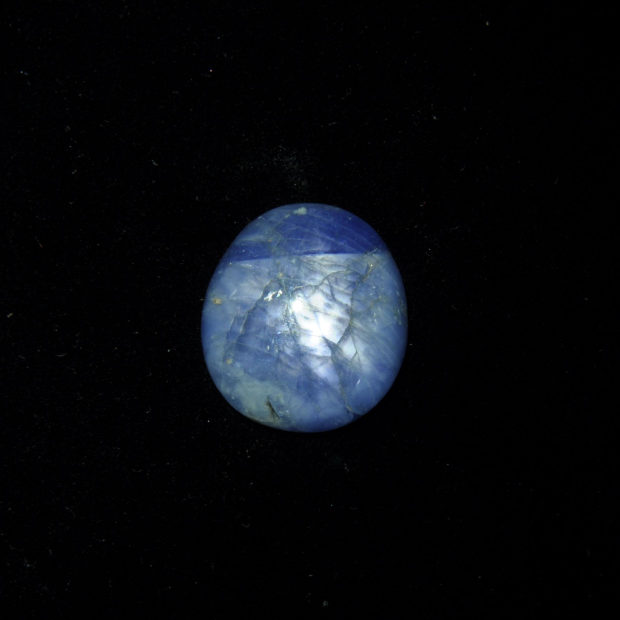圖示-藍寶星石(Star Sapphire)